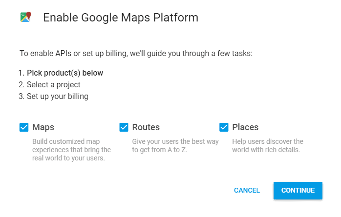 Creating a Google Maps API Key - HashThemes on google authenticator key, google analytics key, google docs key, bing maps api key,