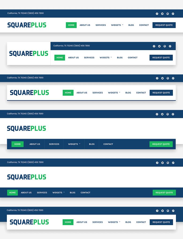 Square Plus - HashThemes