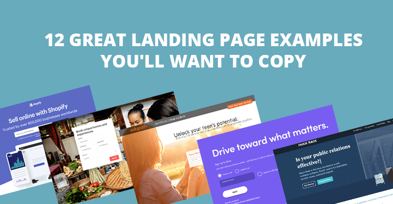 12 Great Landing Page Examples You'll Want to Copy